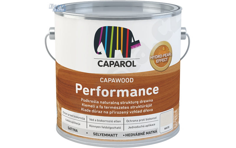 Caparol - CapaWood Performance 2,5L - White